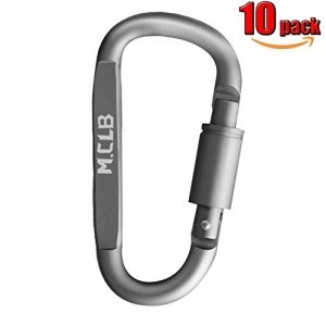 ihocon: Locking Carabiner Clip 扣環 10個