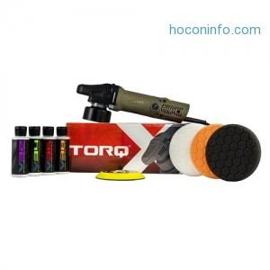 [汽車美容DIY]Torq TORQX Random Orbital Polisher Kit (9 Items)拋光機一套 $119.99免運(原價$159.99)