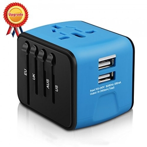 ihocon: HAOZI All-in-one Universal Travel Adapter萬用旅行插座