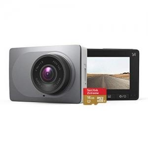 ihocon: YI 2.7 Screen Full HD 1080P60 165 Wide Angle Dashboard Camera 行車記錄器 + 16GB Memory Card