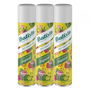 ihocon: Batiste Dry Shampoo, Tropical Fragrance, 3 Count 乾洗髮噴劑