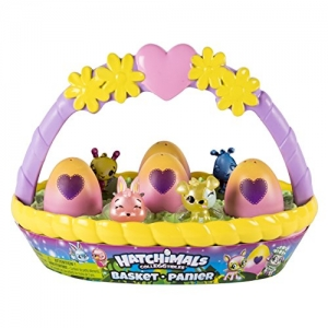 ihocon: Hatchimals CollEGGtibles Basket with 6 Hatchimals CollEGGtibles, Ages 5 & Up