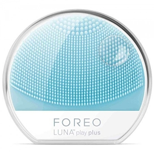 ihocon: FOREO LUNA play plus: Portable Facial Cleansing Brush, Mint 矽膠洗面刷