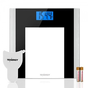 ihocon: Tenergy Body Weight Scale with Step-On Technology強化玻璃體重計