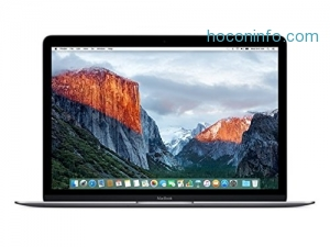 ihocon: Apple MacBook (Early 2016) 12 Notebook, Retina Display, Intel Core M5-6Y54 Dual-Core, 512GB PCI-E SSD, 8GB, 802.11ac, Bluetooth, MacOS 11.4 El Capitan - Space Gray
