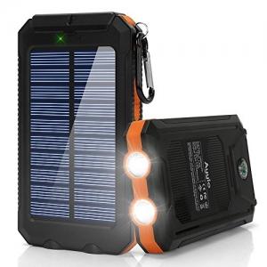 ihocon: Ayyie 10000mAh Solar Power Bank 太陽能行動電源/充電寶