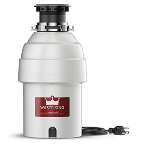ihocon: Waste King Legend Series 1 HP Garbage Disposal with Power Cord廚餘處理機