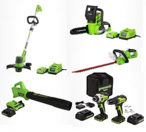 [Amazon 今日特賣] Greenworks電動工具, 園藝工具 特價優惠