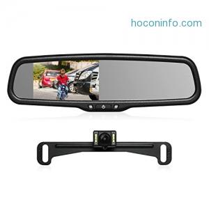 AUTO-VOX T2 Backup Camera Kit 汽車倒車監視系統 $97.99免運(原價$139.99, 30% Off)