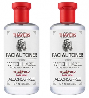 ihocon: THAYERS Alcohol-Free Rose Petal Witch Hazel Facial Toner with Aloe Vera Formula, 12 Ounce 玫瑰金縷梅化妝水
