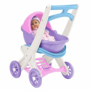 ihocon: American Plastic Toys On-the-Go Stroller 玩具嬰兒推車