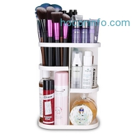 ihocon: Playmont 360 Degree Rotating Makeup Storage Box旋轉化妝品收納架
