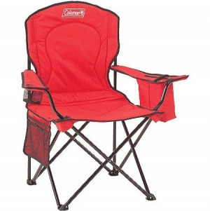 ihocon: Coleman Oversized Quad Chair with Cooler Pouch 休閒椅(含扶手保冷袋)