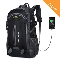 ihocon: Recsolil Hiking Travel Backpack 40L背包