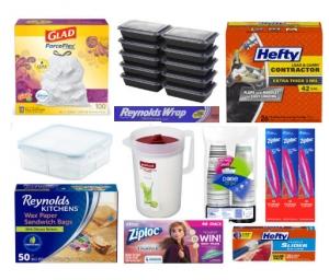 Amazon: 垃圾袋, 保鮮袋, 紙杯, 鍚泊紙..等 買$20立減$5