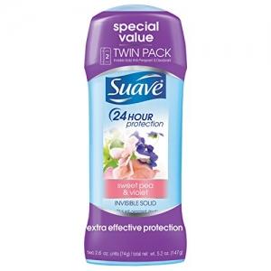 ihocon: Suave Sweet Pea Antiperspirant Deodorant, 2.6 oz, Twin Pack體香劑