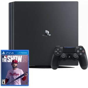 ihocon: PlayStation 4 Pro 1TB Black Console + MLB The Show 19