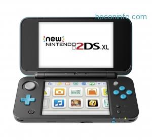 ihocon: New Nintendo 2DS XL - Black & Turquoise
