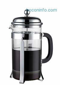 ihocon: French Press Coffee & Espresso Maker, 8 Cups (4 Mugs)法式壓濾咖啡壺/濾茶壺
