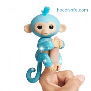 ihocon: WowWee Fingerlings Glitter Monkey - Amelia閃亮互動手指猴