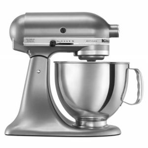 ihocon: KitchenAid KSM150PSCU Artisan Series 5-Quart Tilt-Head Stand Mixer, Contour Silver直立式攪拌機