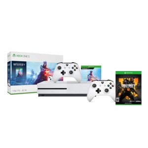 ihocon: Xbox One S 1TB Battlefield V + Extra Xbox Controller + Call of Duty Black Ops 4