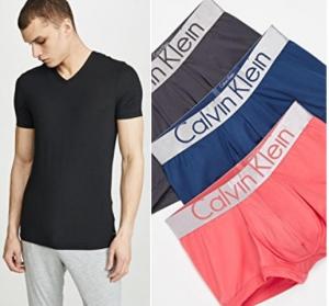 CALVIN KLEIN UNDERWEAR男士內衣, 內褲 – 多款可選 30% off + 免運