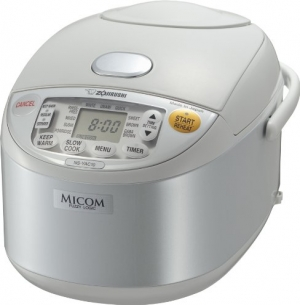 ihocon: Zojirushi NS-YAC10 Umami Micom Rice Cooker and Warmer, Pearl White, 5.5 Cup 電飯鍋