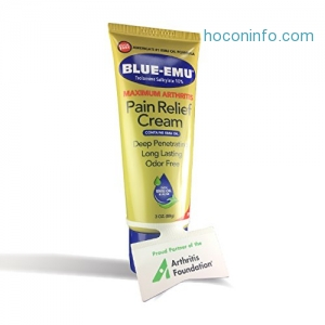 ihocon: Blue Emu Maximum Arthritis Pain Relief Cream, 3 Ounce止痛膏