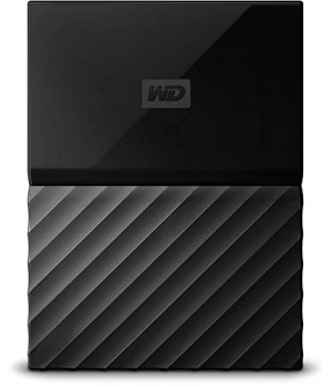 ihocon: WD 1TB Black My Passport  Portable External Hard Drive - USB 3.0 - WDBYNN0010BBK-WESN 外接硬碟