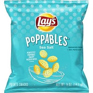 ihocon: [新品上巿] Lay's Poppables Sea Salted Potato Snacks, 40 Count