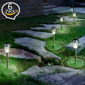 ihocon: Solar Garden Lights, 6 Pack太陽能庭園燈