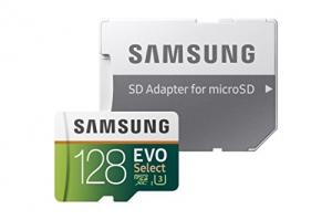 ihocon: Samsung 128GB 100MB/s (U3) MicroSD EVO Select Memory Card with Adapter (MB-ME128GA/AM)