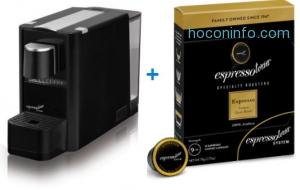 ihocon: Meet Espressotoria Coffee Machine + 6 coffee capsule packs