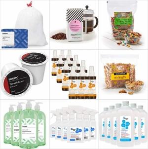 [今日特賣] Amazon自家品牌咖啡, 垃圾袋, 零食…等辦公室常用品 特價25% off