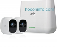 ihocon: Arlo Pro 2 by NETGEAR Home Security Camera System (2 pack) with Siren居家防盜監視系統
