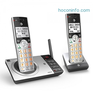 ihocon: AT&T CL82207 DECT 6.0 Expandable Cordless Phone with Answering System & Smart Call Blocker