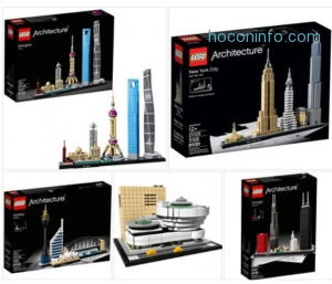ihocon: LEGO Architecture Shanghai 21039 Building Kit (597 Piece)