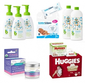Amazon: Babyganics, Mama Bear, Huggies…嬰兒用商 一日特賣!