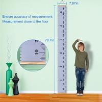 ihocon: EHZNZIE Baby Height Growth Chart Ruler-78.7'x7.87'' 兒童身高尺