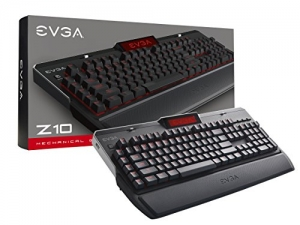 ihocon: EVGA Z10 Red Backlit LED Mechanical Gaming Keyboard (Kailh Brown) 機械遊戲鍵盤