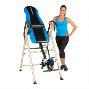ihocon: EXERPEUTIC 175SL Inversion Table with 'SURELOCK' Safety Ankle Ratchet System and Lumbar Support倒立椅