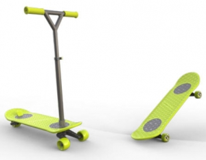 ihocon: MorfBoard Skate & Scoot Combo Set includes Board + Scoot Xtension + Skate Xtension 滑板/滑板車