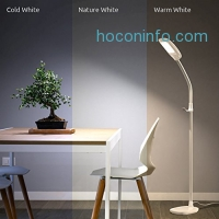 ihocon: Aglaia LED Dimmable Floor Lamp, Eye-Cared Touch Control, 3 Color Modes, 4-Level Dimmer 光線微調觸控立燈