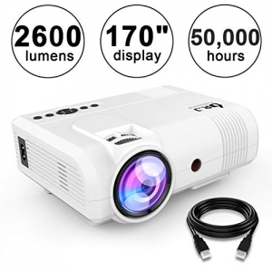 ihocon: DR.J 2600Lumens Home Theater Mini LED Projector 家庭影院迷你投影機