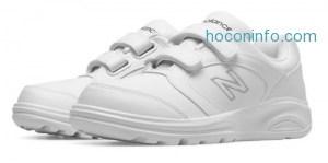 ihocon: New Balance Women's Walking 674 Hook and Loop Shoes White