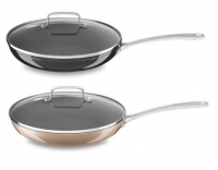ihocon: Kitchenaid 12 Hard Anodized Non-Stick Skillet with lid - 2色可選