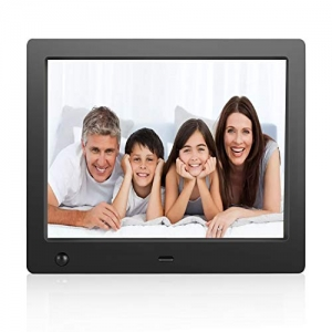 ihocon: Flyamapirit Digital Picture Frame 8 inch Electronic Digital Photo Frame with High Resolution 電子相框