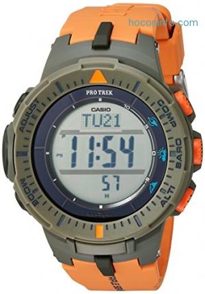 ihocon: Casio Men's 'ProTrek Triple Sensor' Watch (Model: PRG-300-4CR)卡西歐男錶