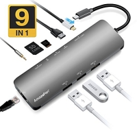 ihocon: AmazeFan 9 in 1 USB C Hub